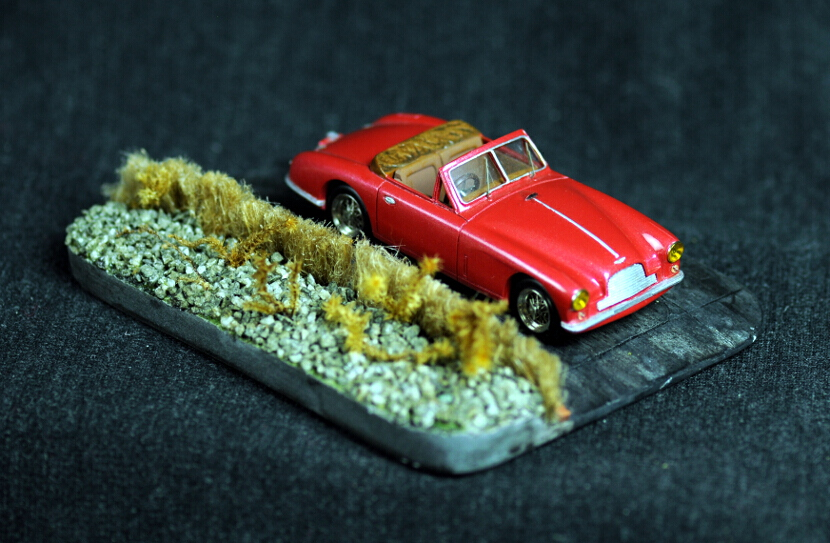 Aston Martin DB2/4 drophead coupe dhc miniature