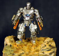Iron Man Mark 1 Knight Models